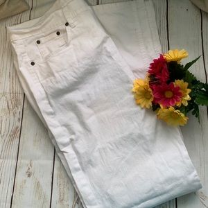 Jeans Jaclyn Smith WHITE Jeans 4 Pocket